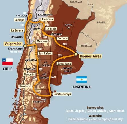 Rally Dakar En Madryn Puerto Madryn Web Site - Argentina map puerto madryn